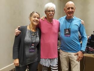 Get Boomersfit Stephen Jepson, Louis Drakulich, Katja Dietze